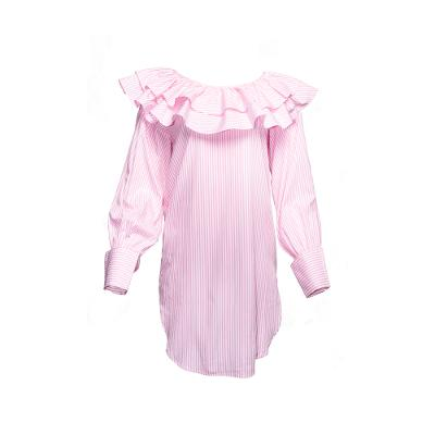The Charles Blouse Pink Stripes